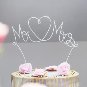 » Mr ❤ Mrs « Caketopper