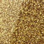 Glitzeracryl gold grob